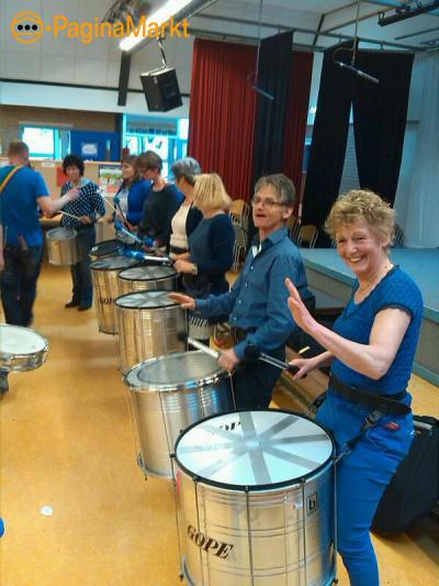 Workshops Percussie als bedrijfsuitje